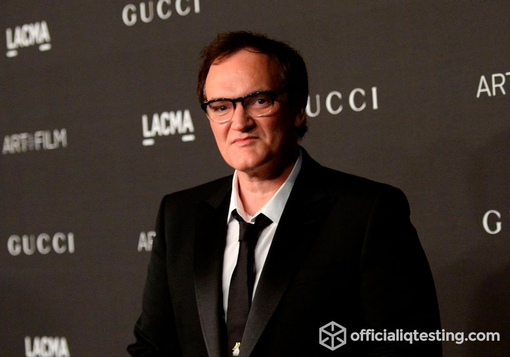 Quentin Tarantino - 160 IQ